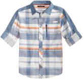 Sean John Plaid Woven Shirt, Big Boys (8-20)