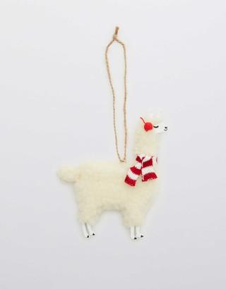 aerie Sass & Belle Felt Ornament - Llama