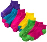 Gold Toe GOLDTOE 6-pk. Neon 1/4-Crew Socks - Girls