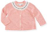 Ralph Lauren Halo Knit Cardigan, Size 9-24 Months
