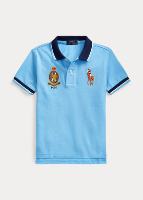 Ralph Lauren Big Pony Crest Cotton Polo