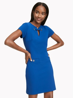 Tommy Hilfiger Essential Short-Sleeve Grommet Dress