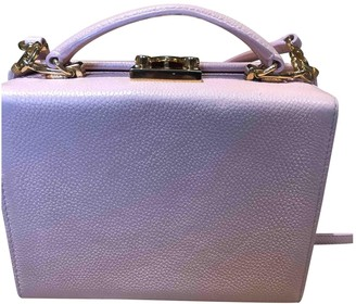 Mark Cross Grace Pink Leather Handbags