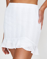 Subtitled Abbey Angle Frill Skirt