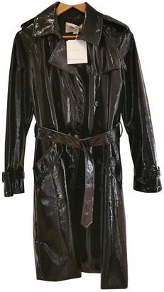 Diane von Furstenberg Black Synthetic Coats