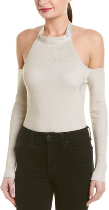 Cushnie Et Ochs Cold-Shoulder Bodysuit