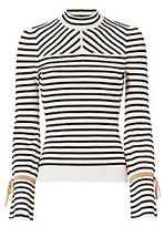 Exclusive for Intermix Victoria Lurex Stripe Knit