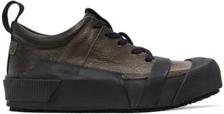 Boris Bidjan Saberi Grey Bamba 2 Sneakers