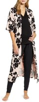 Angel Maternity Maternity/Nursing Pajamas & Robe Set