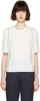 3.1 Phillip Lim White Embroidered Blouse