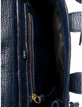 3.1 Phillip Lim Leather Pashli Satchel Blue