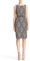 Max Mara Women's Editti Print Jacquard Sheath Dress