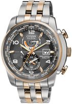 Citizen Eco-drive Chrono At Two Tone Watch