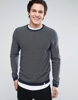 Jack & Jones Core Striped Crew Neck Jumper