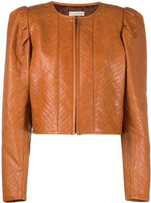 Ulla Johnson Quilted Lambskin Jacket