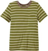 Blue Rooster Harry Stripe Tee (Toddler/Kid) - Olive - 5 Years