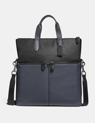 Coach Metropolitan Utility Tote In Colorblock