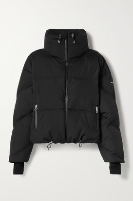 Cordova Mont Blanc Hooded Quilted Down Jacket - Black