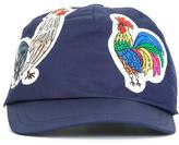 Dolce & Gabbana rooster patch baseball cap - kids - Cotton - One Size
