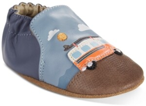 Robeez Baby Boys Surfing Summer Soft Sole Shoes