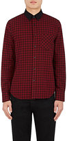 Rag & Bone Men's Yokohama Checked Cotton Shirt-RED