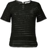 Blugirl shortsleeved knitted blouse