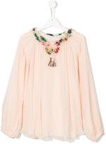 Chloé tassel detail blouse