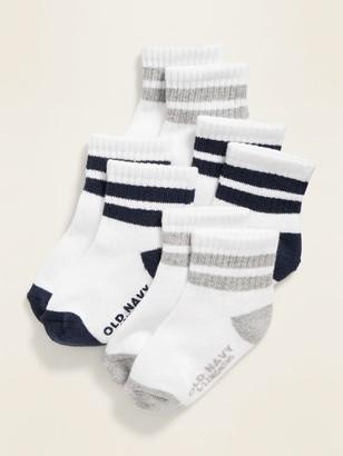 Old Navy Unisex Sport Socks 4-Pack for Toddler & Baby