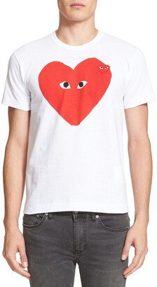 Comme des Garcons Slim Fit Graphic T-Shirt