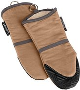 Cuisinart Oven Mitt with Non-Slip Silicone Grip, Heat Resistant to 500° F, Tan, 2-Pack