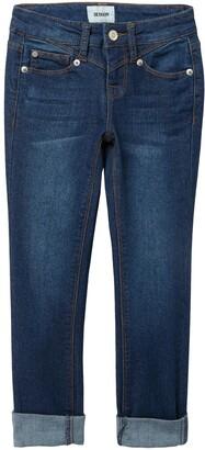 Hudson Meg Mid Rise Skinny Jeans