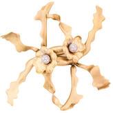 Tiffany & Co. 18K Diamond Orchid Brooch