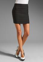 Pleasure Doing Business 9 Band Full Zipper Skirt