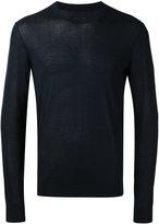 Emporio Armani round neck jumper - men - Silk - 48