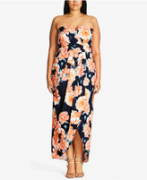 City Chic Trendy Plus Size Convertible Maxi Dress