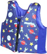 Floaties The Original Swim Vest Blue Rockets - Large