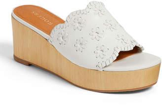 Jack Rogers Rory Floral Whipstitch Platform Wedge Sandals
