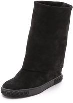 Casadei Fold Over Boots