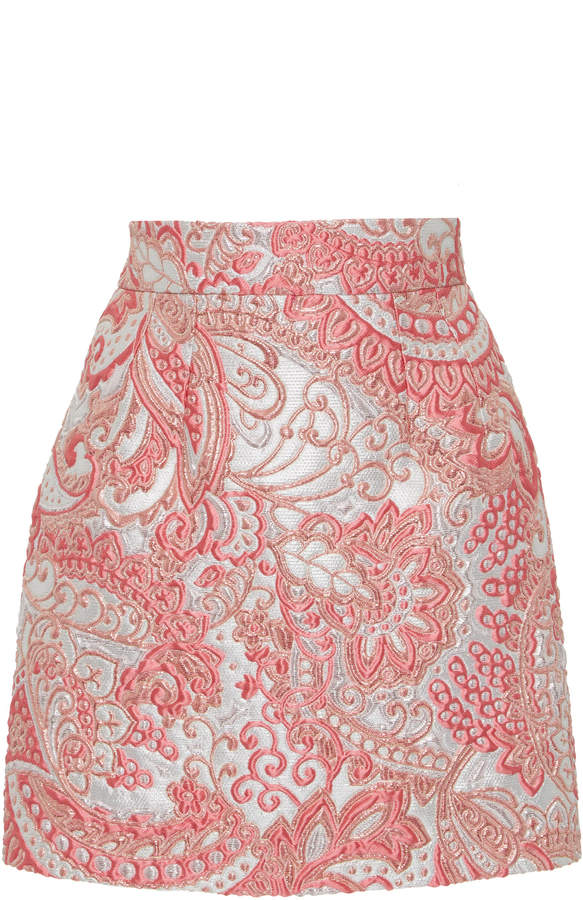 a1c265b85b Metallic Brocade Skirt - ShopStyle