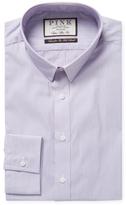 Thomas Pink Herland Stripe Slim Fit Dress Shirt