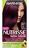 Garnier Nutrisse Ultra Color Nourishing Color Creme,BR1 Deepest Intense Burgundy(Packaging May Vary)