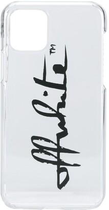 Off-White logo-print iPhone 11 Pro