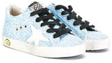 Golden Goose Deluxe Brand Kids - glitter sneakers - kids - Cotton/Leather/Polyurethane/rubber - 28