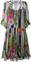 Blugirl floral dress - women - Silk/Polyester - 40