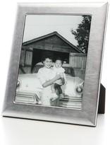 "Graphic Image Argento Italian Leather Frame, 8"" x 10"""