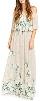 Show Me Your Mumu Women's Hacienda Convertible Off The Shoulder A-Line Gown