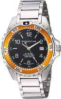Momentum Women's Quartz Stainless Steel Diving Watch, Color:Silver-Toned (Model: 1M-DN11BO0)