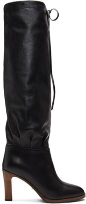 Gucci Black Mid-Heel Boots