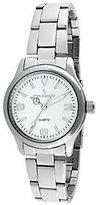 Peugeot Women's Silvertone Bracelet Link Watch