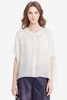 Diane von Furstenberg Karrly Silk Tunic Top